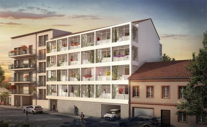 Appartements neufs Bonnefoy référence 4480 : aperçu n°0