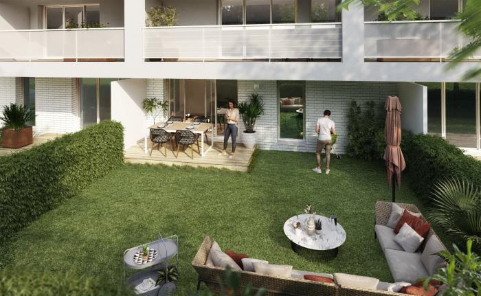 Appartements neufs La Roseraie référence 4488 : aperçu n°1
