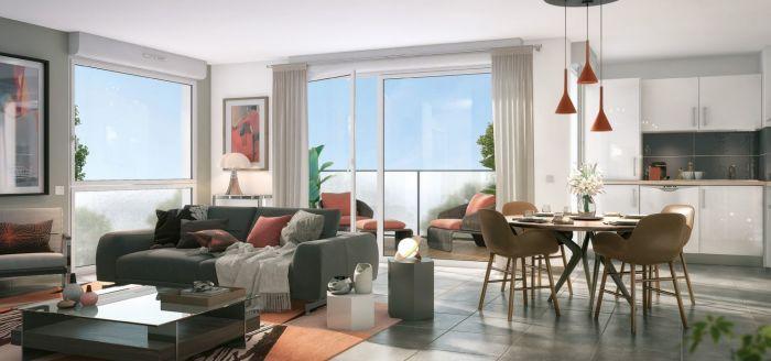 Appartements neufs Tournefeuille référence 4578 : aperçu n°1