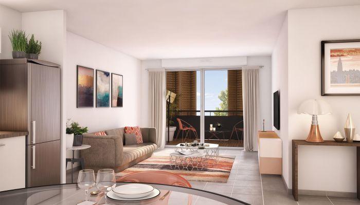 Appartements neufs Pinsaguel référence 4580 : aperçu n°1