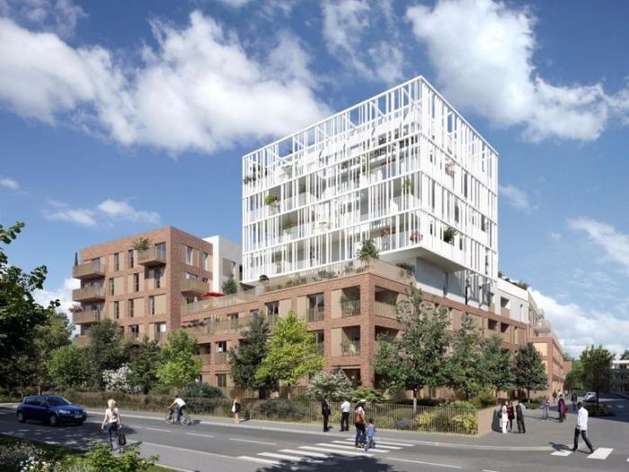 Appartements neufs La Roseraie référence 4594 : aperçu n°0