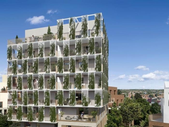 Appartements neufs La Roseraie référence 4594 : aperçu n°2