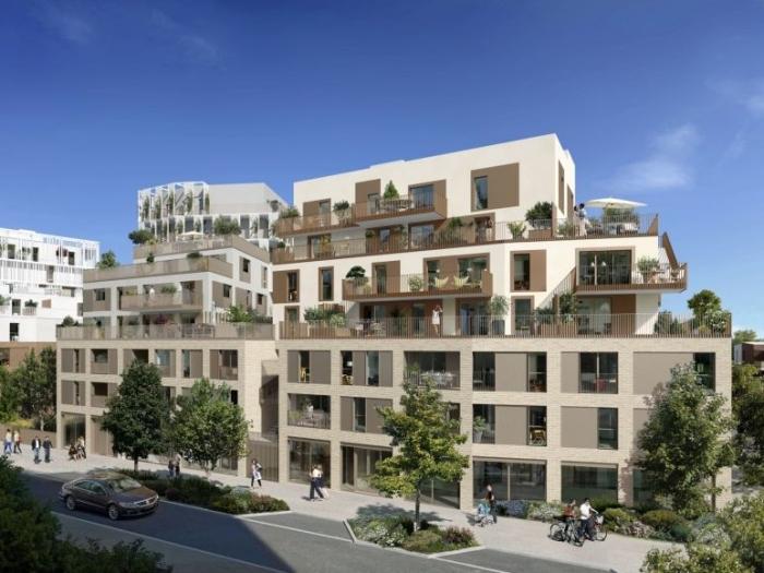 Appartements neufs La Roseraie référence 4594 : aperçu n°3