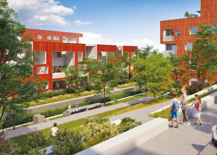 Appartements neufs Purpan référence 4596 : aperçu n°3
