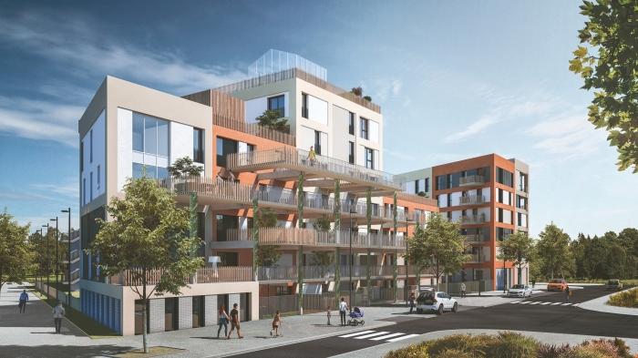 Appartements neufs Saint-Martin-du-Touch référence 4606 : aperçu n°2