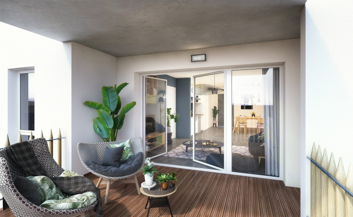 Appartements neufs Saint-Martin-du-Touch référence 4606 : aperçu n°1