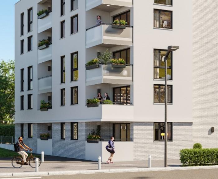 Appartements neufs Croix-Daurade référence 4608 : aperçu n°0