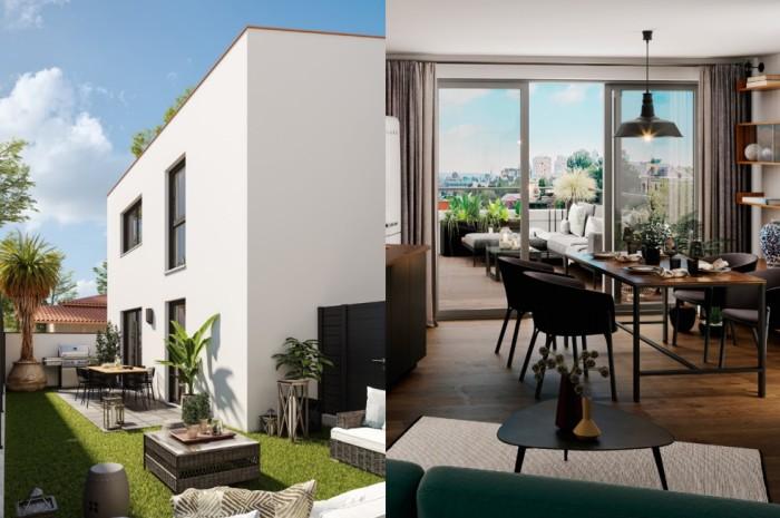 Appartements neufs Croix-Daurade référence 4608 : aperçu n°1