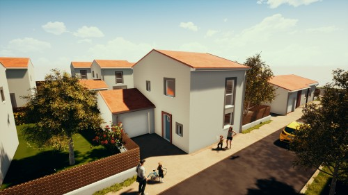 Maisons neuves Rouffiac-Tolosan référence 4610