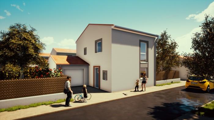 Maisons neuves Rouffiac-Tolosan référence 4610 : aperçu n°2