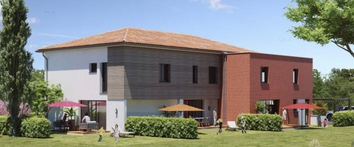 Maisons neuves Aucamville référence 4612 : aperçu n°0