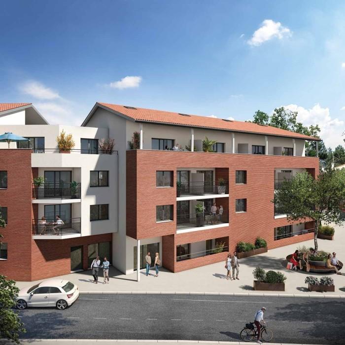 Appartements neufs Castanet-Tolosan référence 4646 : aperçu n°0