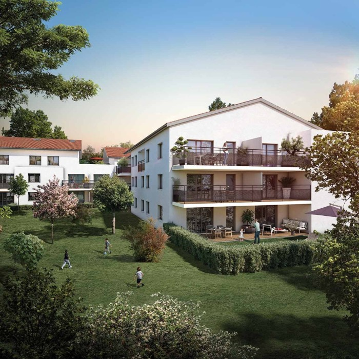Appartements neufs Castanet-Tolosan référence 4646 : aperçu n°2