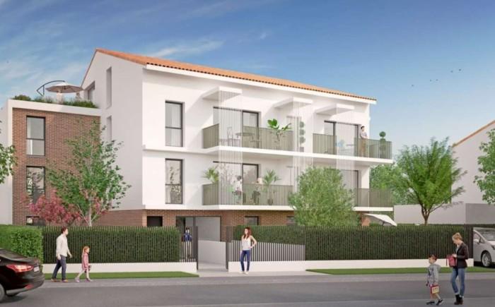 Appartements neufs La Roseraie référence 4648 : aperçu n°0