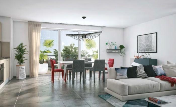 Appartements neufs La Roseraie référence 4648 : aperçu n°1