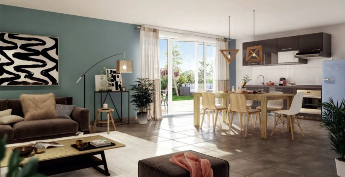 Maisons neuves et appartements neufs Lespinasse référence 4650 : aperçu n°1