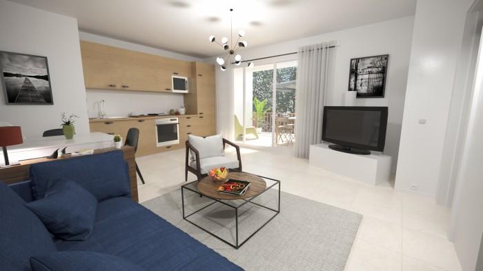 Appartements neufs Muret référence 4652 : aperçu n°1