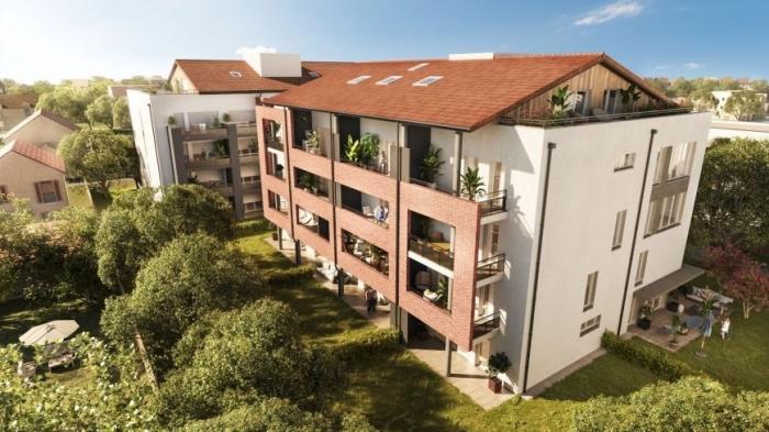Appartements neufs Croix-Daurade référence 4676 : aperçu n°2