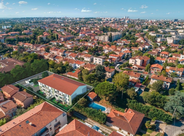 Appartements neufs La Roseraie référence 4682 : aperçu n°0