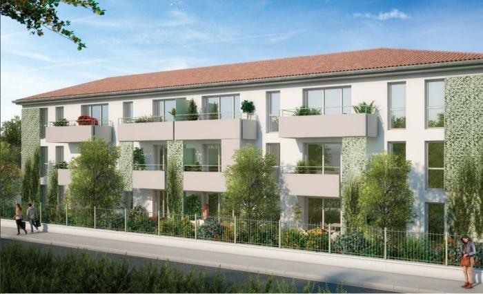 Appartements neufs La Roseraie référence 4682 : aperçu n°2