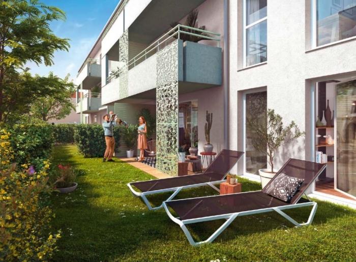 Appartements neufs La Roseraie référence 4682 : aperçu n°3