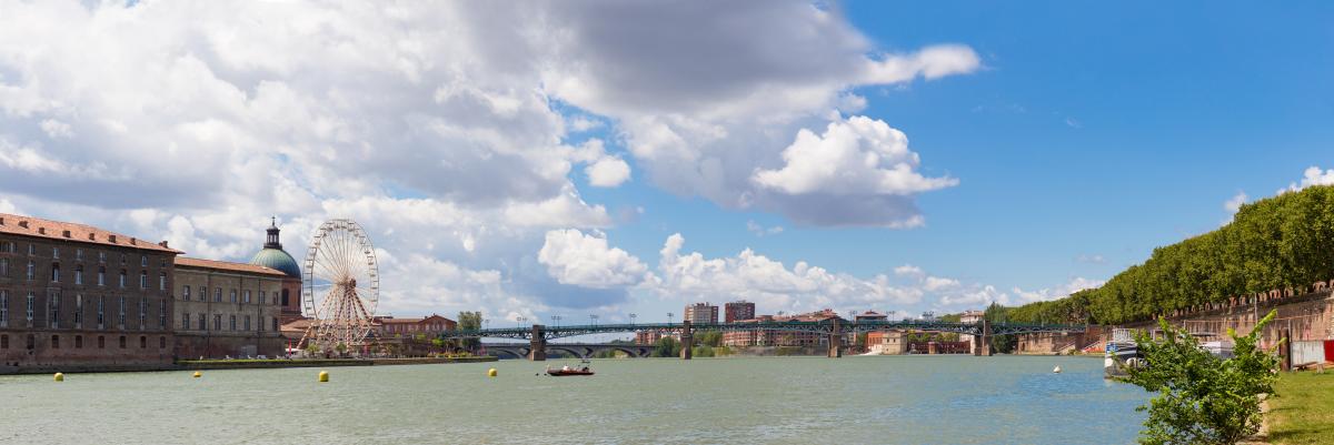 Zone loi Pinel - Le centre-ville de Toulouse est classé en zone B1 Pinel