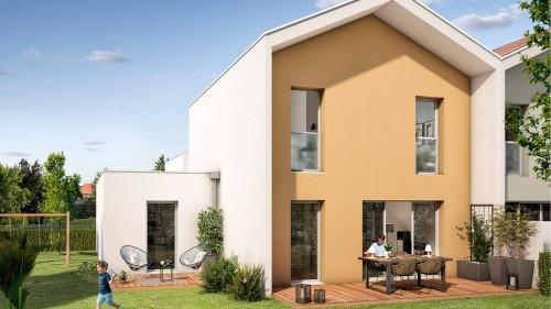Maisons neuves Saint-Simon référence 4690