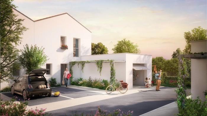 Maisons neuves Saint-Simon référence 4690 : aperçu n°4