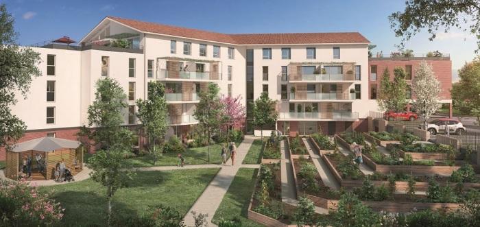 Appartements neufs Montrabé référence 4692 : aperçu n°0