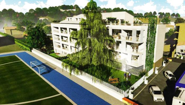 Appartements neufs Château de l'Hers référence 4704 : aperçu n°2