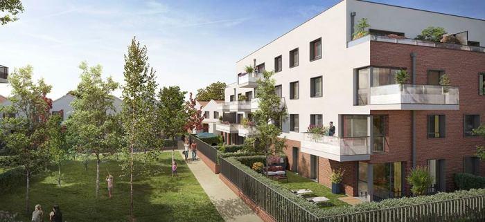 Maisons neuves et appartements neufs Montaudran référence 4708 : aperçu n°0