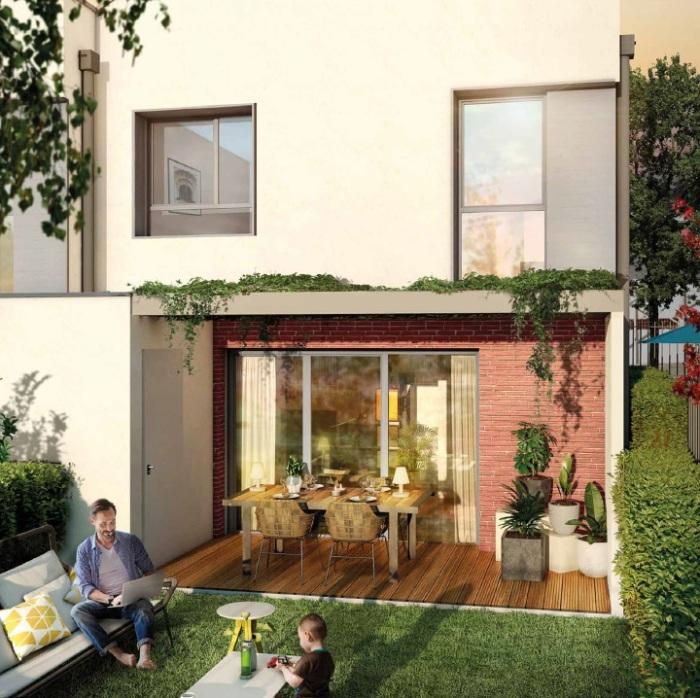 Maisons neuves et appartements neufs Montaudran référence 4708 : aperçu n°3