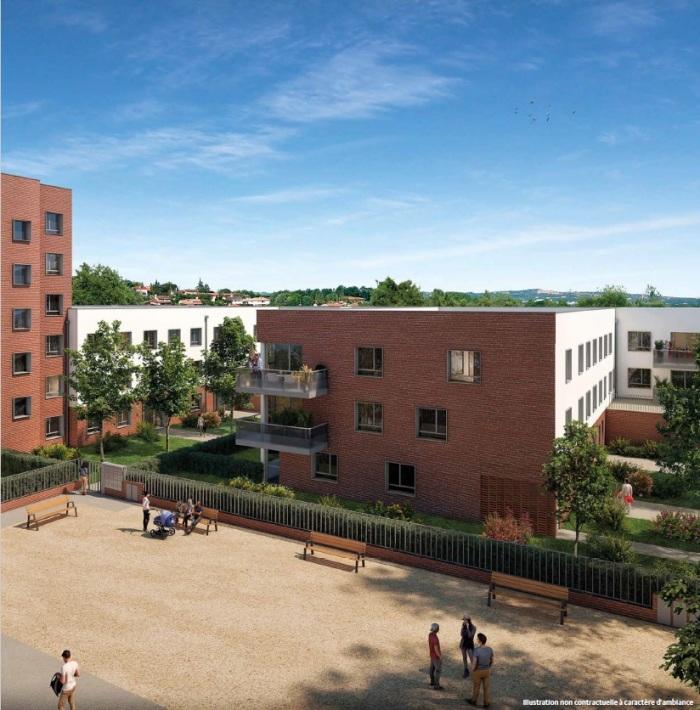 Maisons neuves et appartements neufs Montaudran référence 4708 : aperçu n°4