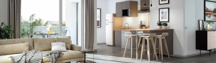 Maisons neuves et appartements neufs Montaudran référence 4708 : aperçu n°1