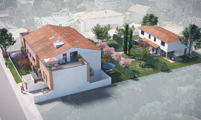 Maisons neuves et appartements neufs Croix-Daurade référence 4710 : aperçu n°0