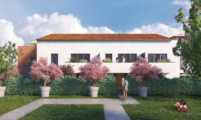 Maisons neuves et appartements neufs Croix-Daurade référence 4710 : aperçu n°2