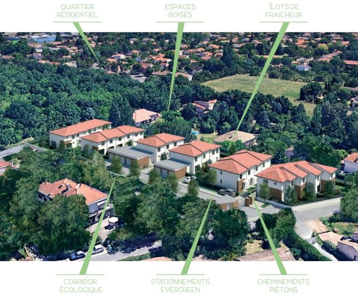 Maisons neuves Montaudran référence 4712 : aperçu n°3