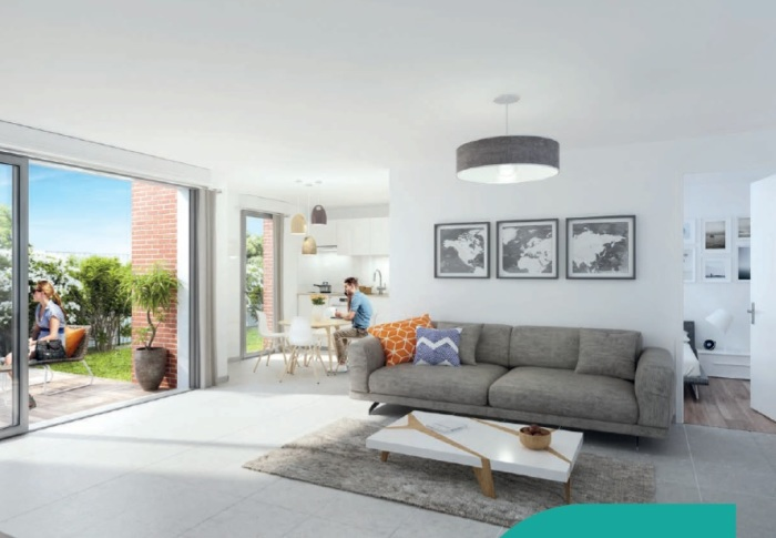 Appartements neufs Aucamville référence 4719 : aperçu n°1