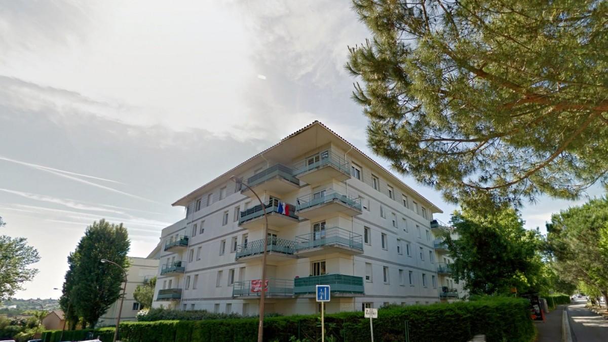 appartement neuf Toulouse Château de l'Hers - Un immeuble récent construit sur 4 étages dans la rue Claudius Rougenet à Toulouse Château de l'Hers