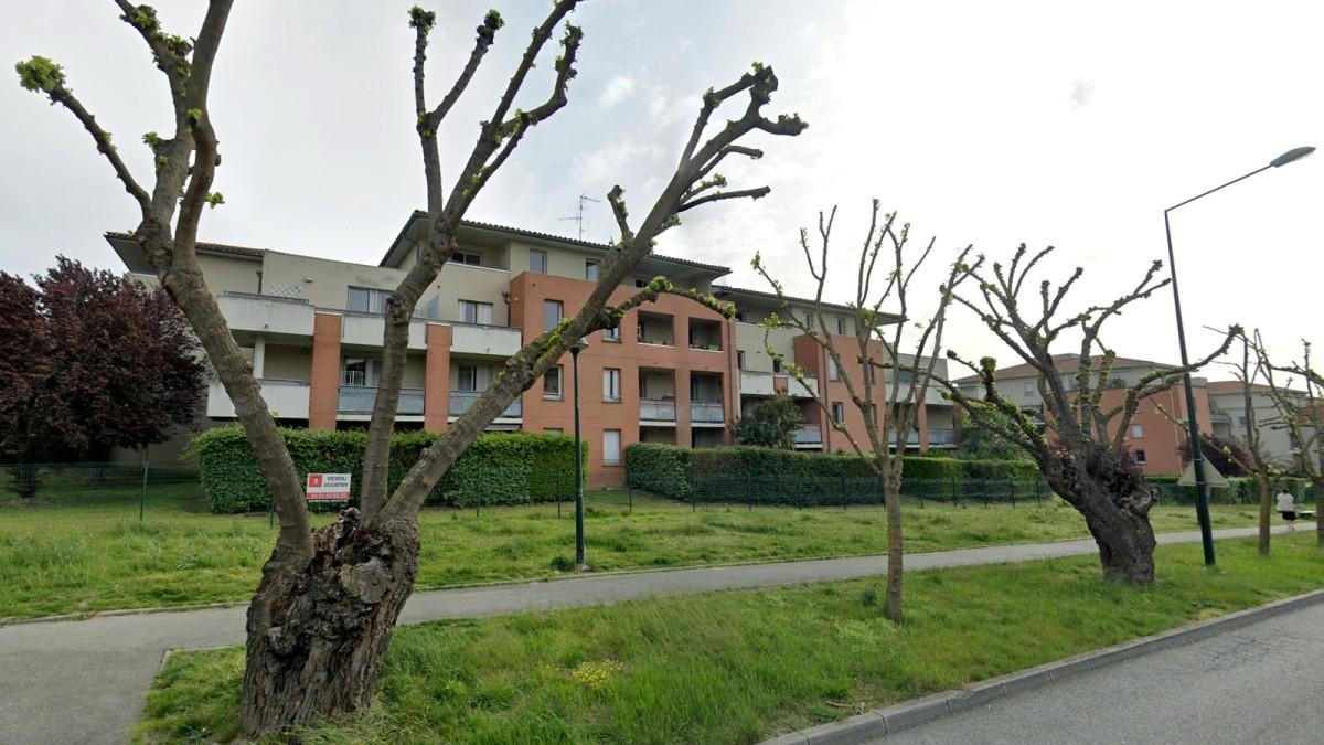 appartement neuf Toulouse Château de l'Hers - Un immeuble situé le long de l'allée de Limayrac à Toulouse Château de l'Hers