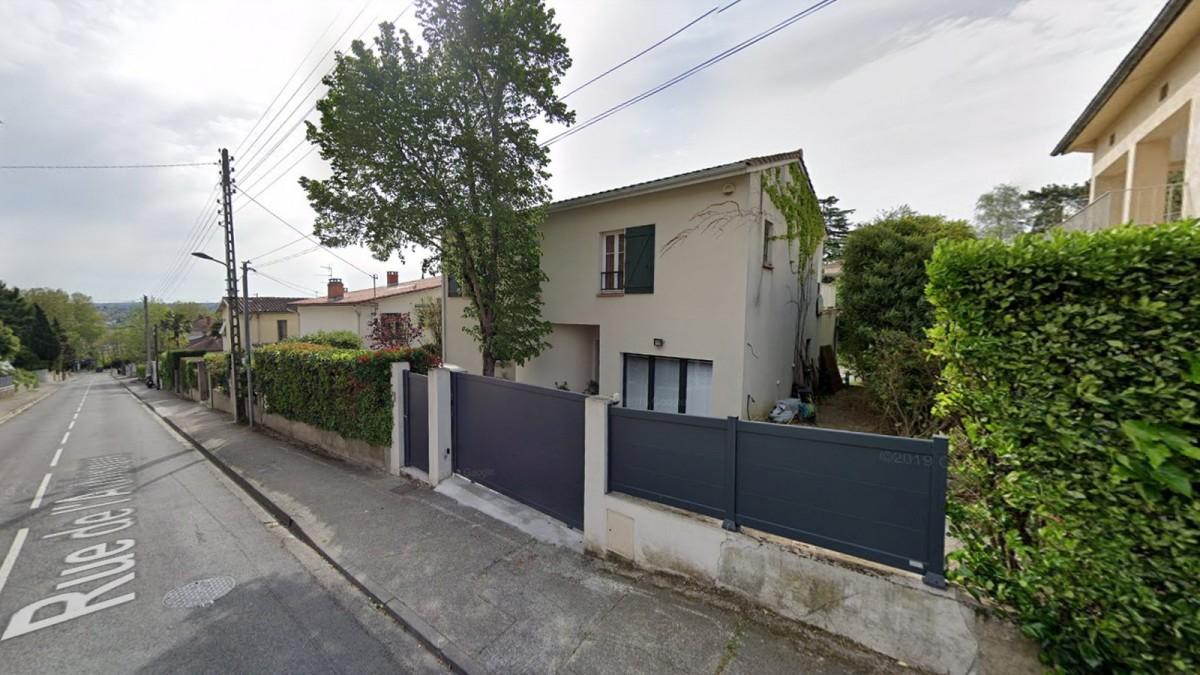 programme immobilier neuf Toulouse Château de l'Hers - La rue résidentielle de l'Aubisque à Toulouse Château de l'Hers