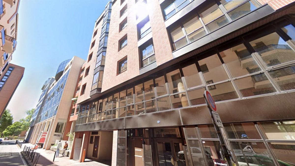 appartement neuf Compans Caffarelli - Grand immeuble contemporain situé rue Alaric II à Compans Caffarelli
