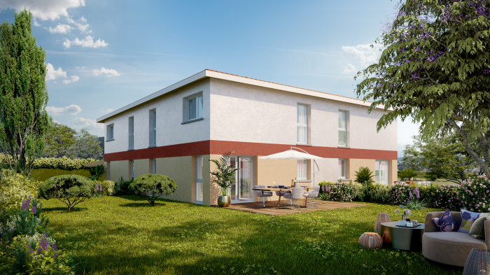 Maisons neuves Muret référence 4726 : aperçu n°0