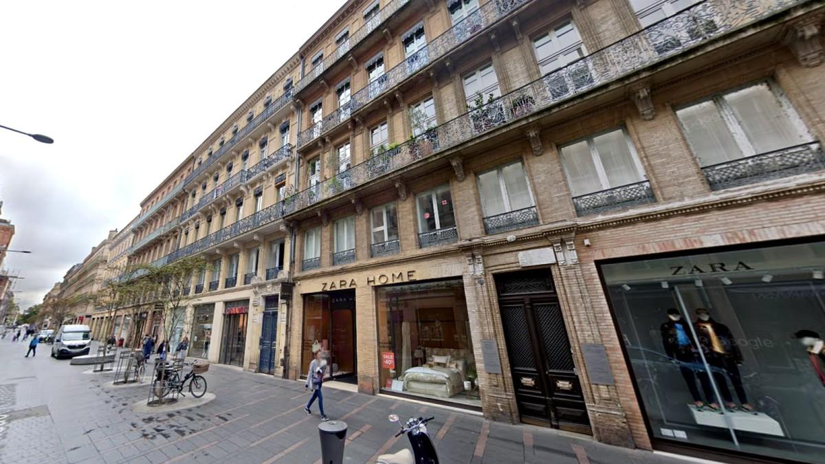 appartement neuf toulouse hyper centre - La rue Alsace-Lorraine et ses ensembles immobiliers