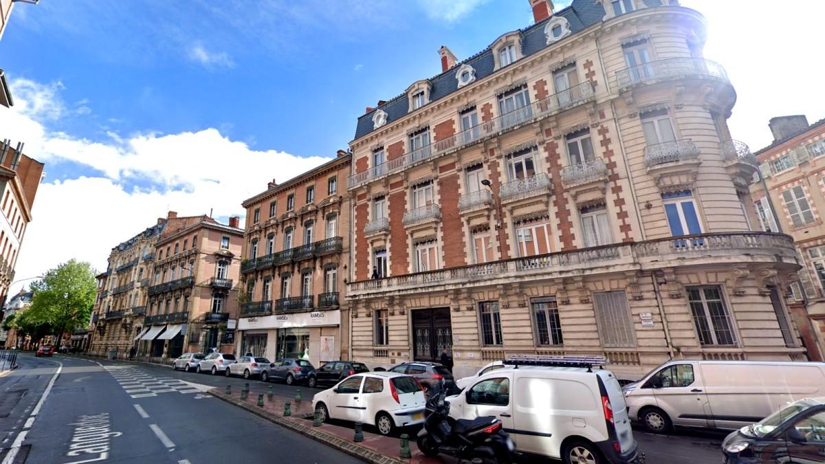 appartement neuf toulouse hyper centre - Les immeubles Haussmanniens situés le long de la rue du Languedoc