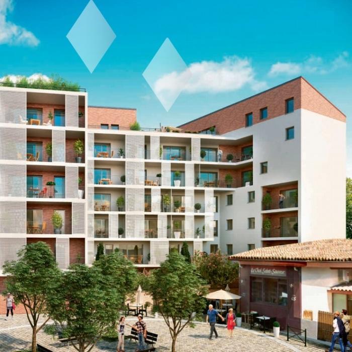Appartements neufs Côte Pavée référence 4717 : aperçu n°2