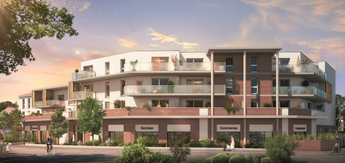 Appartements neufs Labarthe-sur-Lèze référence 4761 : aperçu n°0