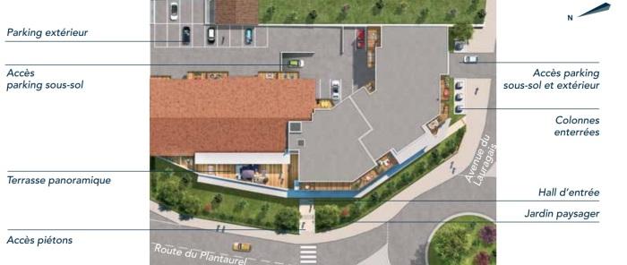 Appartements neufs Labarthe-sur-Lèze référence 4761 : aperçu n°3