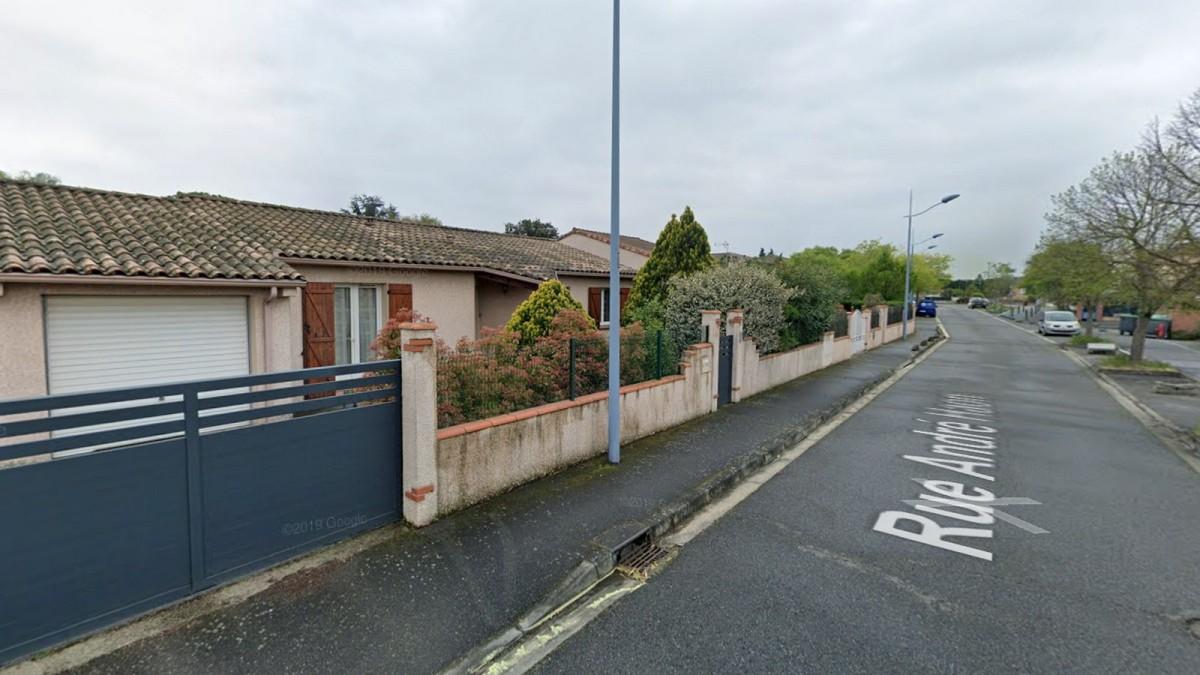 programme neuf toulouse lalande - Des maisons situées rue André Haon proposant un cadre de vie résidentiel