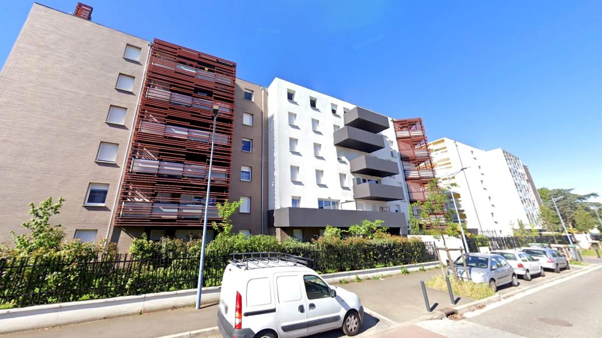 programme neuf Toulouse Lalande - Des immeubles construits le long de la rue Virginia Wolf